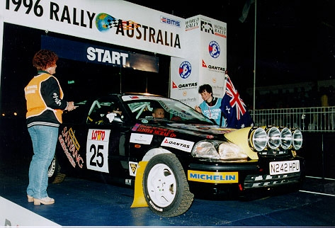 Rally Australia with Alister McRae 1st F2 1600